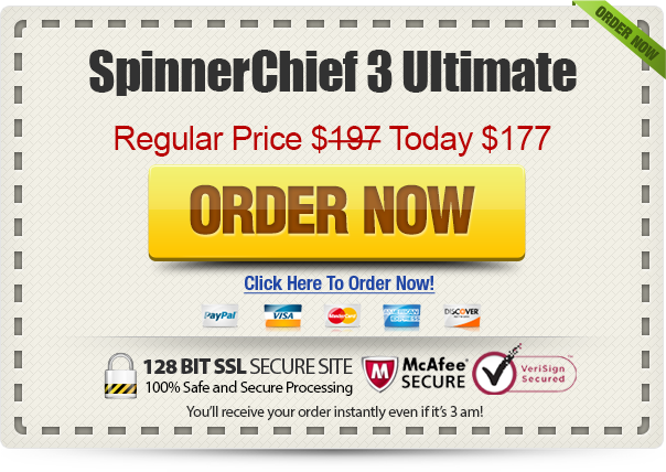 SpinnerChief 3 Ultimate  One Time Fee